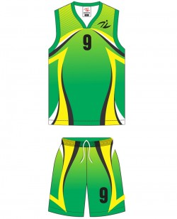 Sublimated Basketball Kit