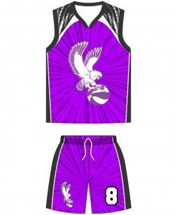 Sublimated Basketball Kit